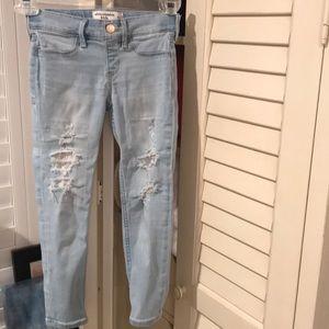 Abercrombie Kids 5/6 pull on leggings